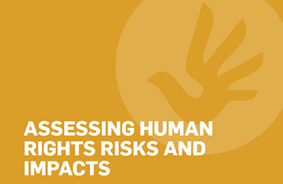 Assessing Human Rights Risks and Impacts