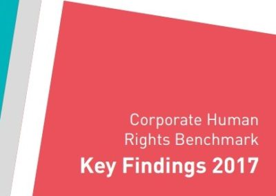 Corporate Human Rights Benchmark: Key Findings 2017