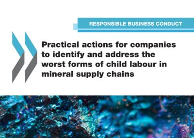 Practical actions for companies to identify and address the worst forms of child labor in mineral supply chains