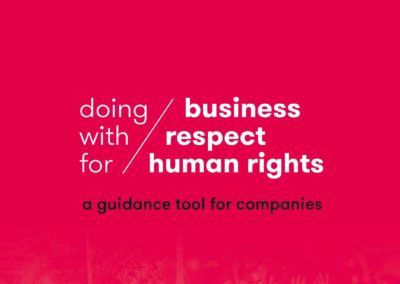 Doing Business with Respect for Human Rights