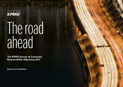 The Road Ahead: The KPMG Survey of Corporate Responsibility Reporting 2017