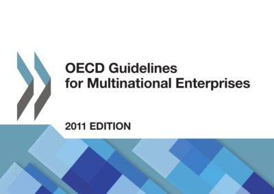 OECD Guidelines for Multinational Enterprises (2011 Update)