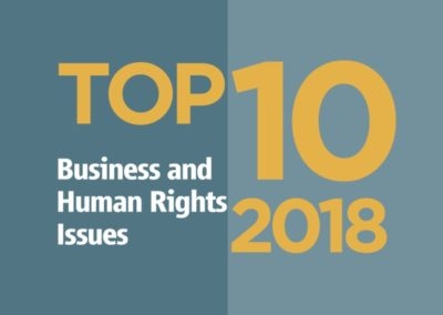 Top 10 Business and Human Rights Issues 2018