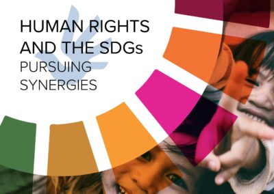 Human Rights and the SDGs: Pursuing Synergies