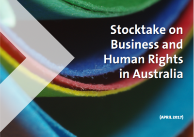 Stocktake on Business and Human Rights in Australia