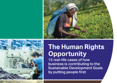 The Human Rights Opportunity: 15 real-life cases of business contributing to the SDGs by putting people first