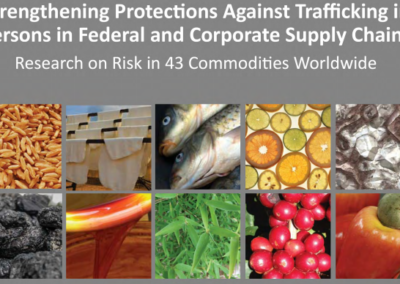 Strengthening Protections Against Trafficking in Persons in Federal and Corporate Supply Chains