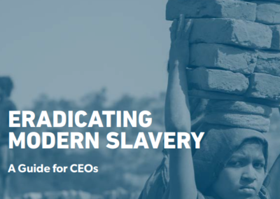 Eradicating Modern Slavery – A guide for CEOs