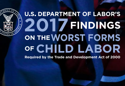 2017 Findings on the Worst Forms of Child Labor