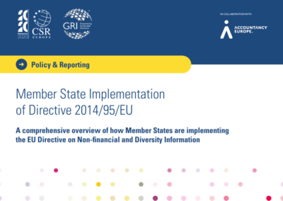 A comprehensive overview of how Member States are implementing the EU Directive on Non-financial and Diversity Information