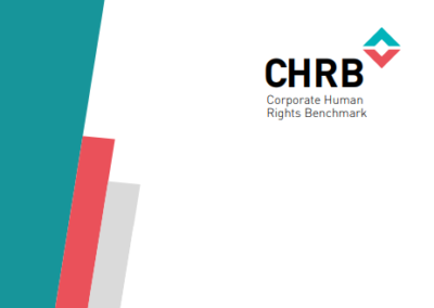 Corporate Human Rights Benchmark 2018