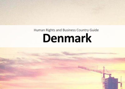 Human Rights and Business Country Guide Denmark