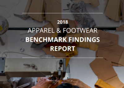 2018 Apparel & Footwear Benchmark Findings Report