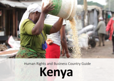 Human Rights and Business Country Guide  Kenya