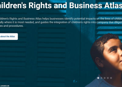 Children's Rights and Business Atlas