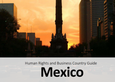 Human Rights and Business Country Guide Mexico