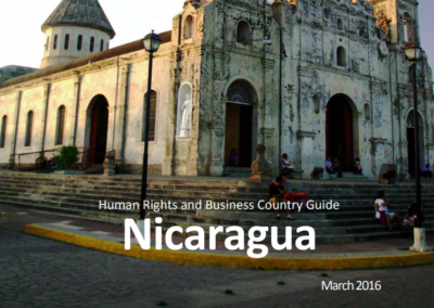 Human Rights and Business Country Guide Nicaragua