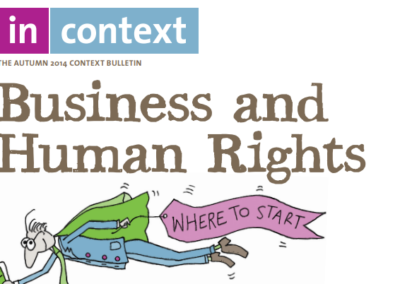 Business and Human Rights: Where to Start