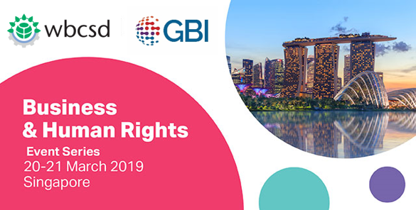 Insights Report: WBCSD-GBI Workshop in Singapore, 20/21 March 2019