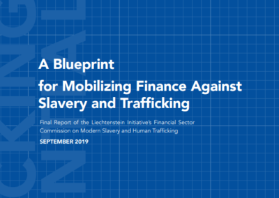 A Blueprint for Mobilizing Finance Against Slavery and Trafficking