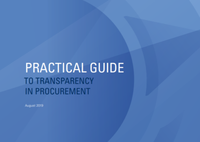 Practical Guide to Transparency in Procurement