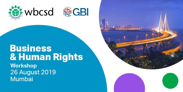 Insights Report: WBCSD-GBI Workshop in Mumbai, India, 26 Aug 2019