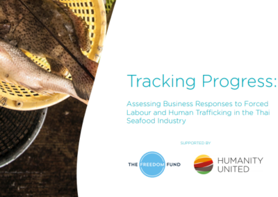 Assessing Business Responses to Forced Labour and Human Trafficking in the Thai Seafood Industry