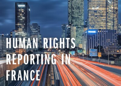 Human Rights Reporting in France – Two Years In: Has the Duty of Vigilance Law led to more Meaningful Disclosure?