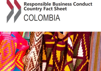 Responsible Business Conduct – Country Fact Sheet: Colombia