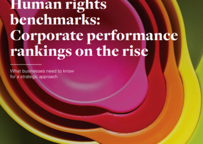 Human rights benchmarks: Corporate performance rankings on the rise