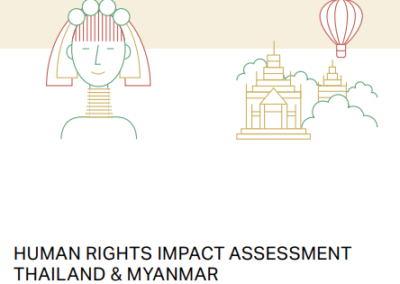 Human Rights Impact Assessment Thailand & Myanmar