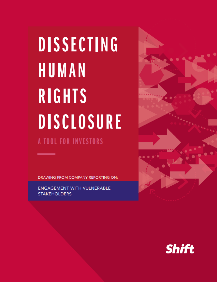 Dissecting Human Rights Disclosure Engagement With Vulnerable Stakeholders Business And Human Rights Gateway