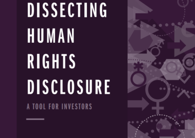 Dissecting Human Rights Disclosure: Gender