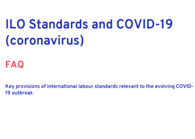 ILO Standards and COVID-19