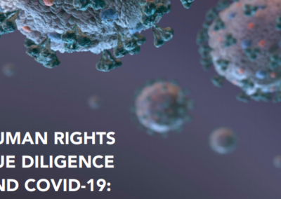 Human Rights Due Diligence and COVID-19: Rapid Self-Assessment for Business