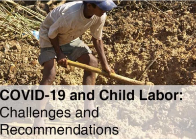 COVID-19 and Child Labor: Challenges and Recommendations