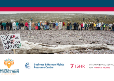 Safeguarding Human Rights Defenders: Practical Guidance for Investors