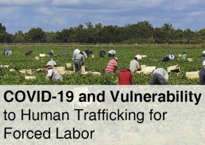 COVID-19 and Vulnerability to Human Trafficking for Forced Labor
