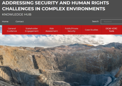 Addressing security and human rights challenges in complex environments – Knowledge Hub