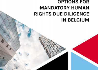 Options for mandatory human rights due diligence in Belgium