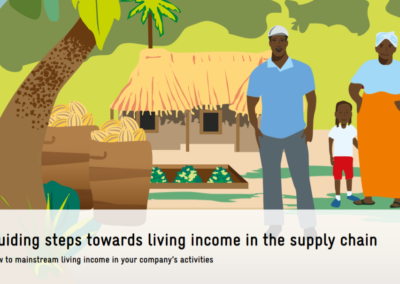 Living incomes in global supply chains: a toolkit for companies