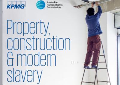 Property, construction & modern slavery