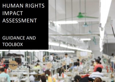Human rights impact assessment guidance and toolbox