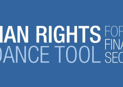 Human Rights Guidance Tool for the Financial Sector