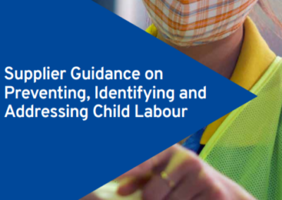 Supplier Guidance on Preventing, Identifying and Addressing Child Labour