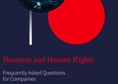 Business and Human Rights – Frequently Asked Questions for Companies