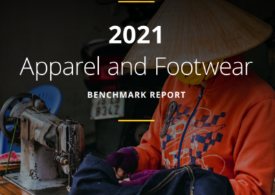 2021 Apparel and Footwear – Benchmark Report