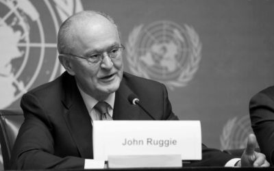 Prof. John G. Ruggie, Author of The Guiding Principles, Has Passed Away